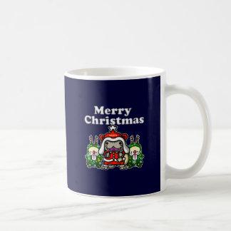 Merry-Chri Santa-nyan Coffee Mugs