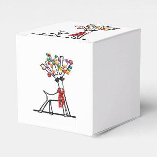 Merry Chris Moose Favor Box