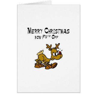Merry Chrismas Now F*ck Off Cards