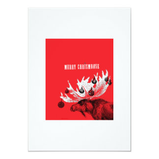 MERRY CHRISMOOSE CARD