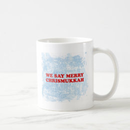 merry chrismukkah coffee mug