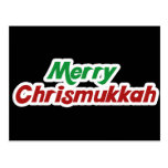 Merry Chrismukkah Post Card