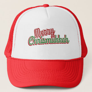 Merry Chrismukkah Trucker Hat