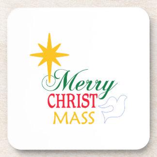Merry Christ Mass Drink Coaster