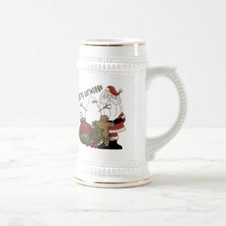 Merry Christams Santa Coffee Mugs