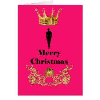 Merry Christmas Tarjeton