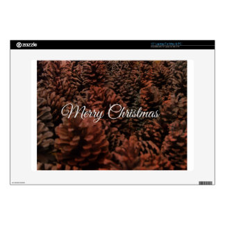 "Merry Christmas 15"" Laptop Skins"
