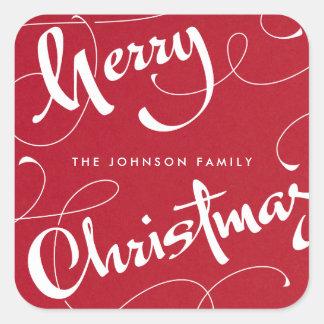 MERRY CHRISTMAS #1 | BASICS | STICKER