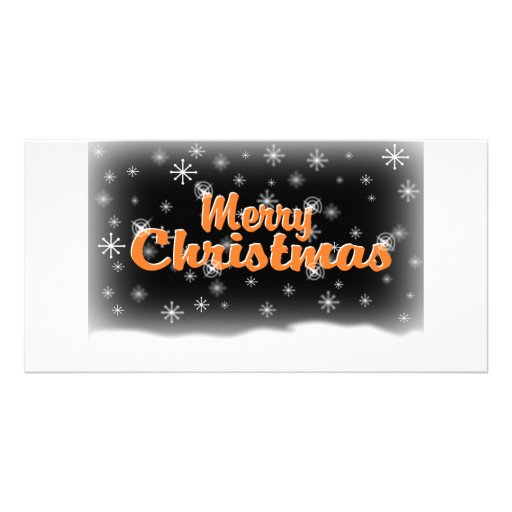 MERRY CHRISTMAS 1 GIANTS PHOTO GREETING CARD