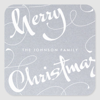 MERRY CHRISTMAS #1 | GOLD & SILVER | STICKER