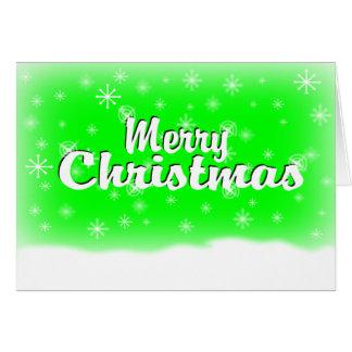 MERRY CHRISTMAS 1 LIME CARD