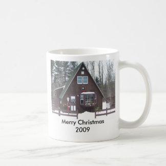 Merry Christmas 2009 Coffee Mugs