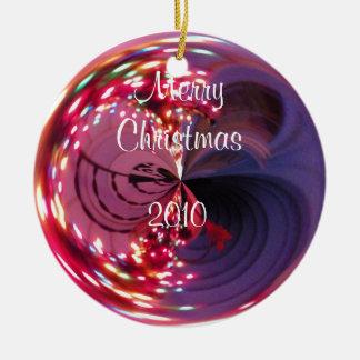 Merry Christmas, 2010 Bulb Ornament