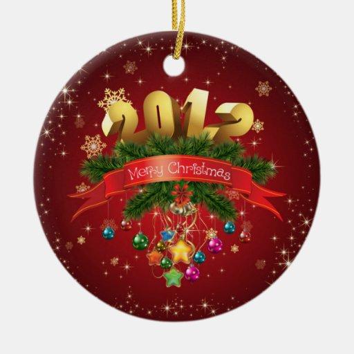 Merry Christmas 2012 ornament