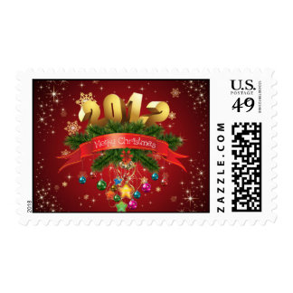 Merry Christmas 2012 Stamps