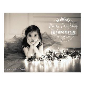 Merry Christmas 2013 Photo Flat Card
