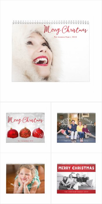 Merry Christmas 2016 Calendars