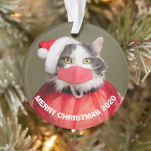 Paper Handkerchiefs Christmas Winter Gift Motif Christmas Santa Moose Cat