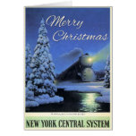 Merry Christmas - 20th Century Limited Card