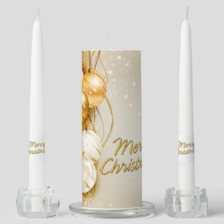 Merry Christmas 23 Options Unity Candle Set
