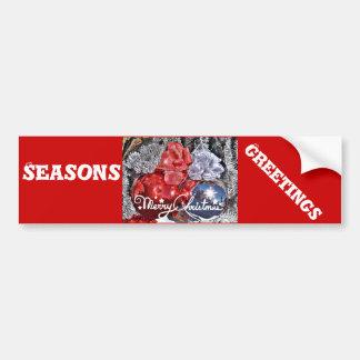 Merry Christmas #2_ Bumper Sticker
