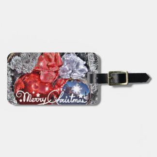 Merry Christmas #2_ Luggage Tag
