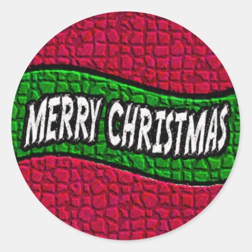 Merry Christmas 2 Sticker