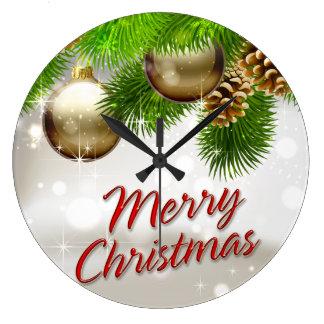 Merry Christmas 39 Wall Clock Options