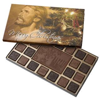 Merry  Christmas 3 Assorted Chocolates