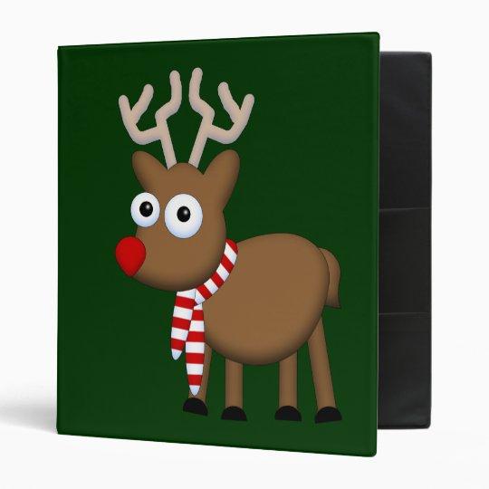 Merry Christmas 3 Ring Binder