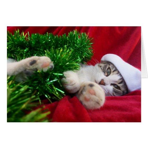 Merry Christmas 3 Tarjeta De Felicitacin