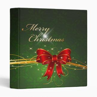 Merry Christmas 44 Binder Options