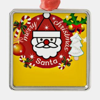 Merry Christmas#4_ Metal Ornament
