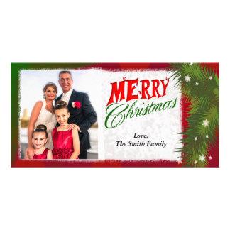 Merry Christmas 4x8 Photo Card