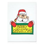 "Merry Christmas 5"" X 7"" Invitation Card"