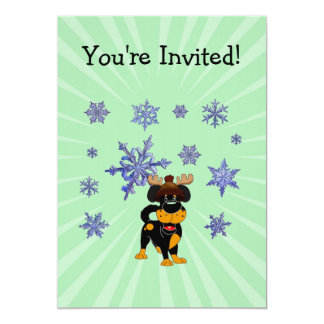Merry Christmas! 5x7 Paper Invitation Card