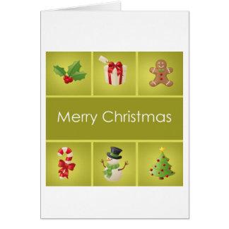 Merry Christmas 6539 Card