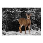 "MERRY CHRISTMAS 6 5"" X 7"" INVITATION CARD"