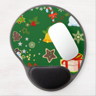 merry Christmas 917 Gel Mouse Pad