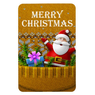 Merry Christmas 98 Image Options Magnet