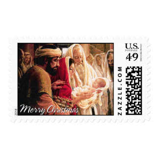 Merry Christmas A1 Postage