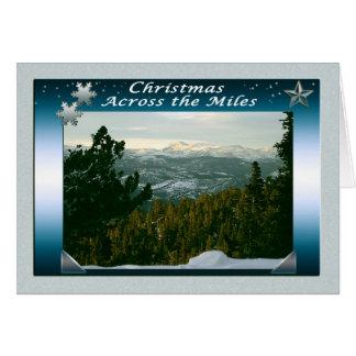 Merry Christmas Across the Miles Card