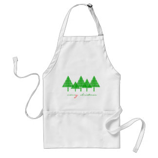 merry christmas adult apron