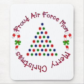 Merry Christmas (Air Force Mom) Mouse Pad