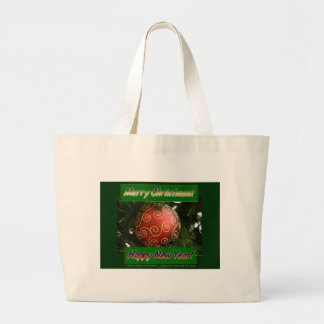 Merry Christmas & Happy New Year Tote Bags