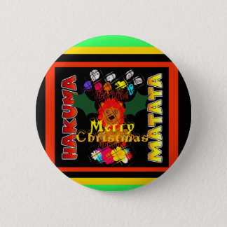 Merry Christmas and a Happy New Year Button