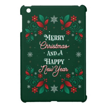 Merry Christmas and a Happy New Year iPad MiniCase Case For The iPad Mini