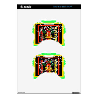 Merry Christmas and a Happy New Year Xbox 360 Controller Skin
