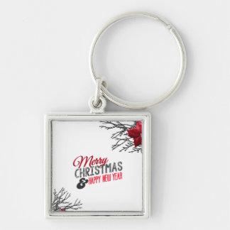 Merry Christmas and happy new to year Keychain