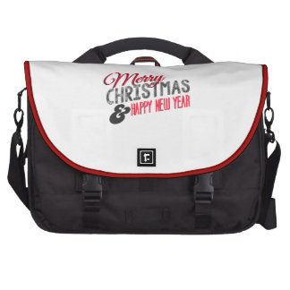 Merry Christmas and happy new to year Commuter Bag